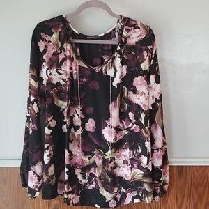 Zach & Rachel floral print blouse